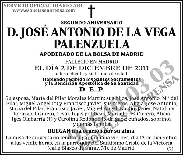 José Antonio de la Vega Palenzuela